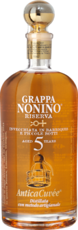 Grappa Nonino Riserva AnticaCuvée 5 Years